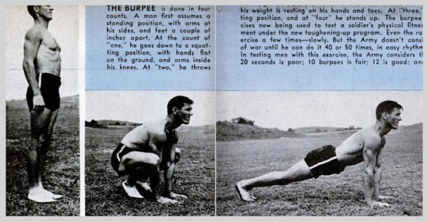 The original, unadulterated burpee.