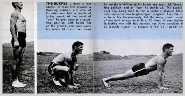 The original, unadulterated burpee.