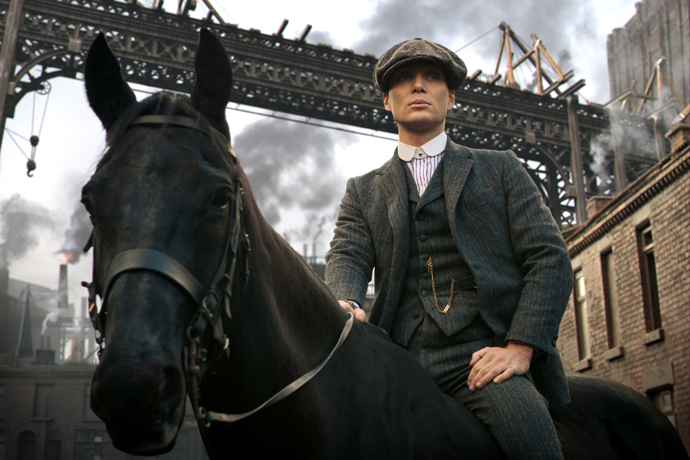 Downton Abbey + The Godfather = Peaky Blinders