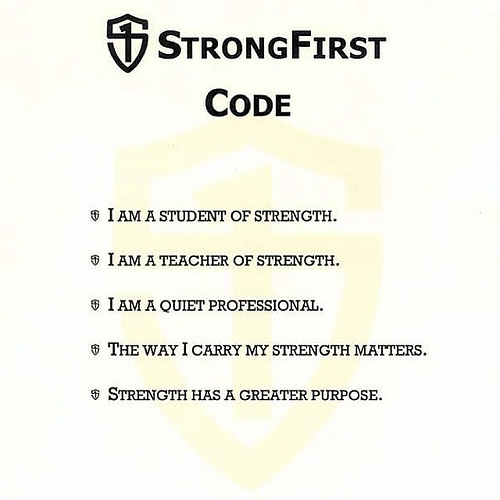 One of the reasons StrongFirst is a gold standard..