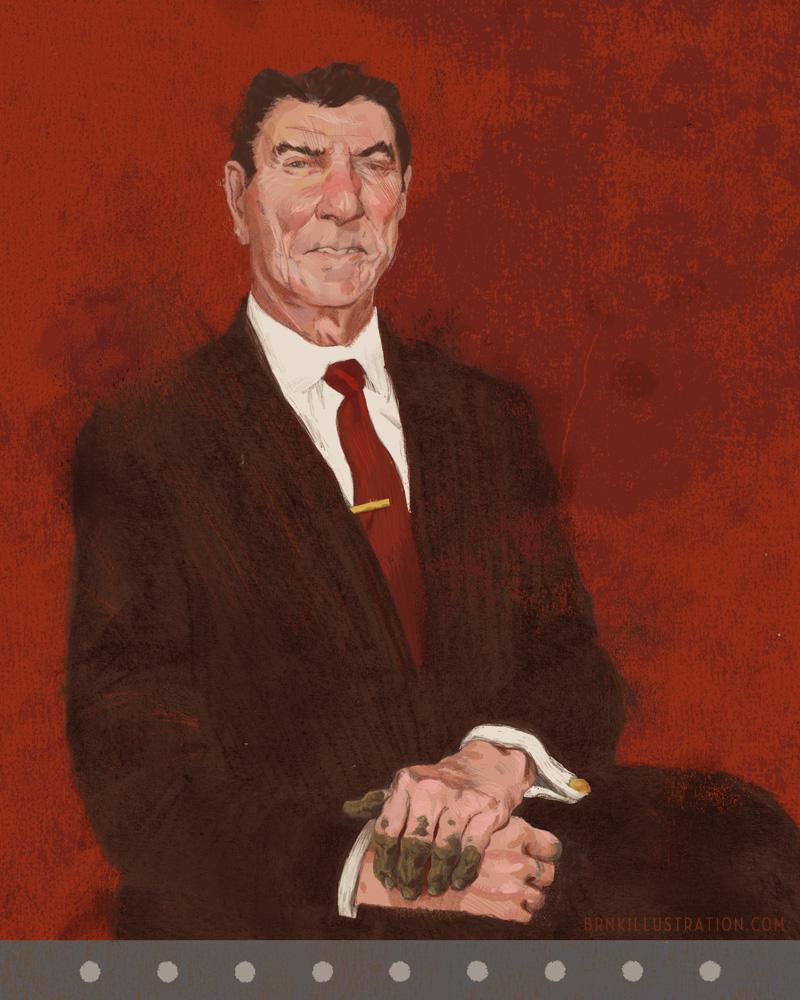 Reagan, Corruptor