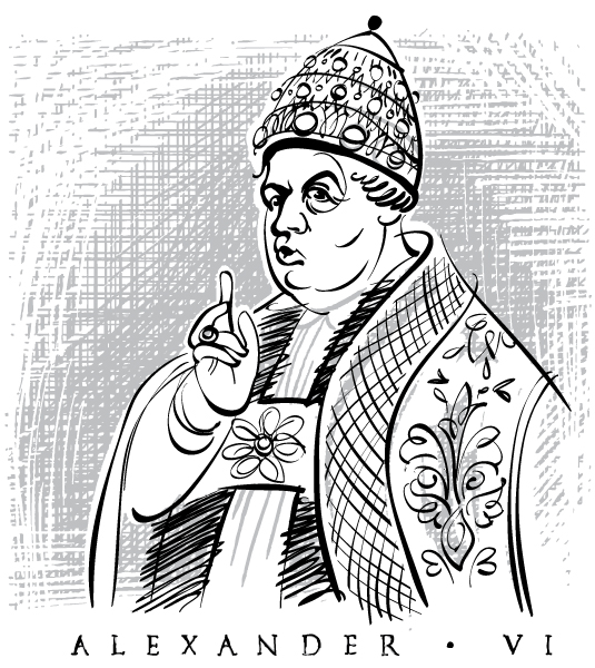 Pope Alexander VI has a secret