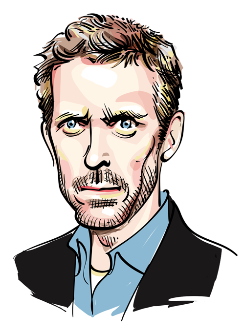 Hugh Laurie, favorite human being