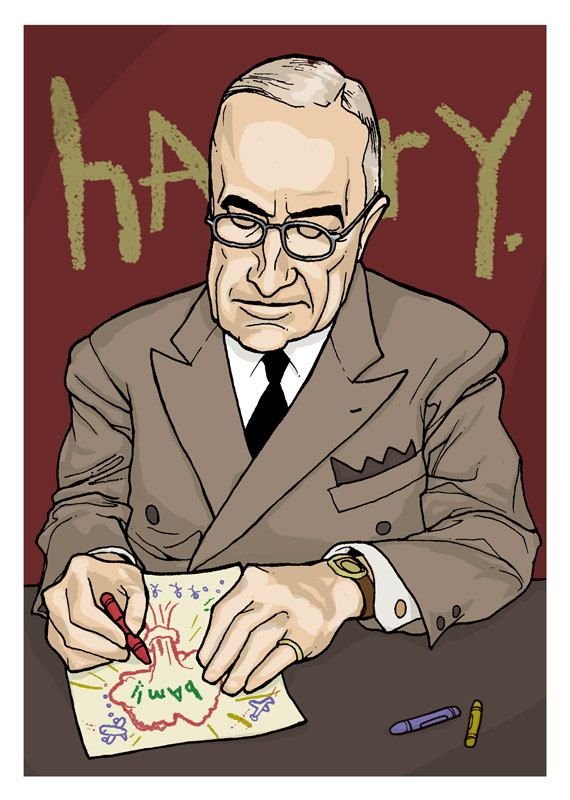 President Harry S. Truman by barak Hardley