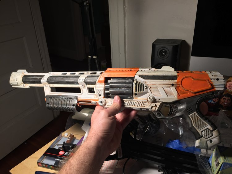 Basically you paint and weather them from the bright neon colors into  something more realistic. I wanted one to look like a gritty Mad Max prop  and the ...