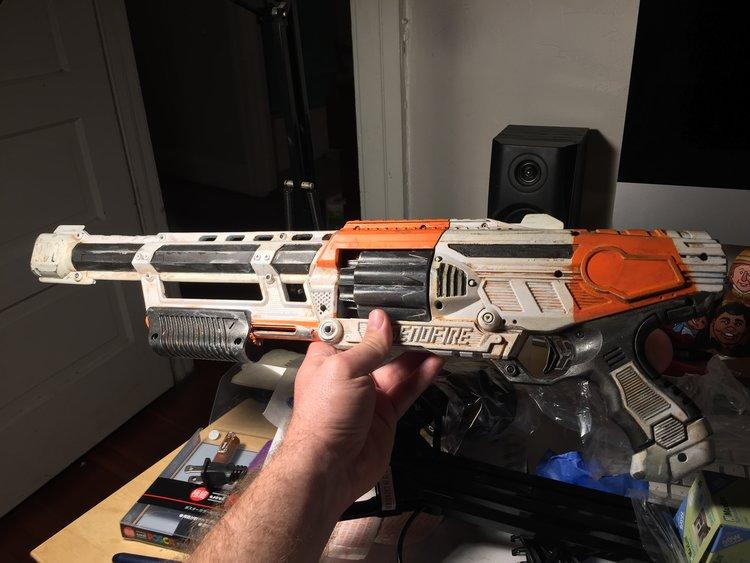 Nerf Gun Modified by pagawanaman ...