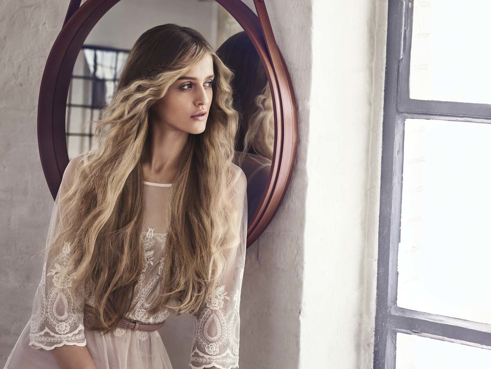 Hair Extensions   If you want thicker, longer hair, you can achieve the hair of your dreams with the addition of hair extensions. Our hair extension experts can custom cut and colour your extension to match your hair perfectly.