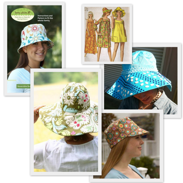Sew A Summer Hat Pattern Round Up A Sewing Journal