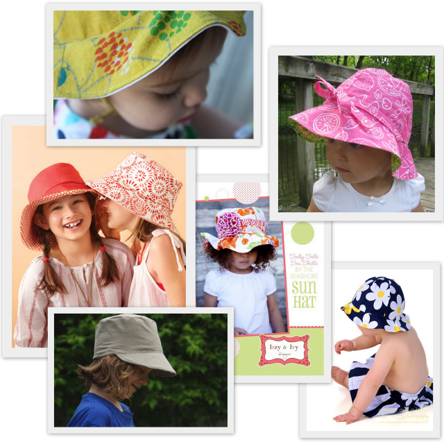 Sew A Summer Hat For Kids Pattern Round Up A Sewing Journal