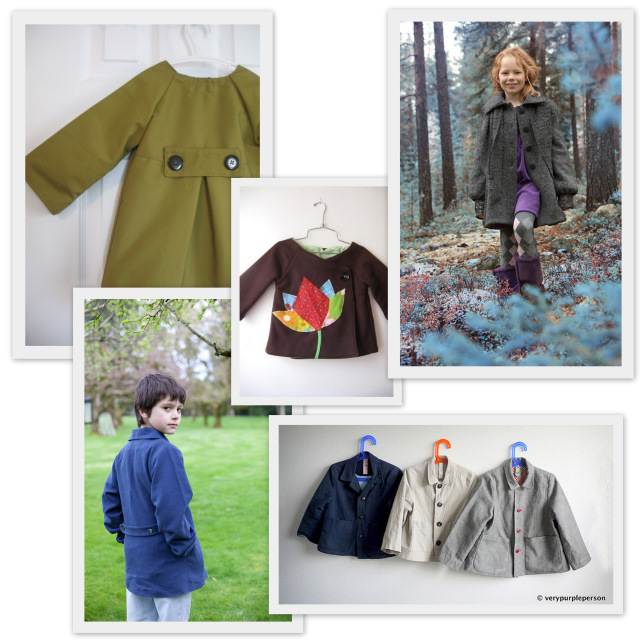 Back To School 10 Jacket Or Coat Sewing Patterns For Kids A