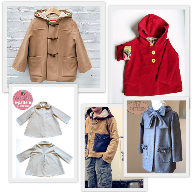 Back To School 10 Jacket Or Coat Sewing Patterns For Kids