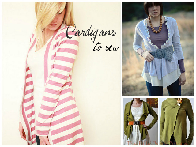 Cardigans To Sew A Sewing Journal