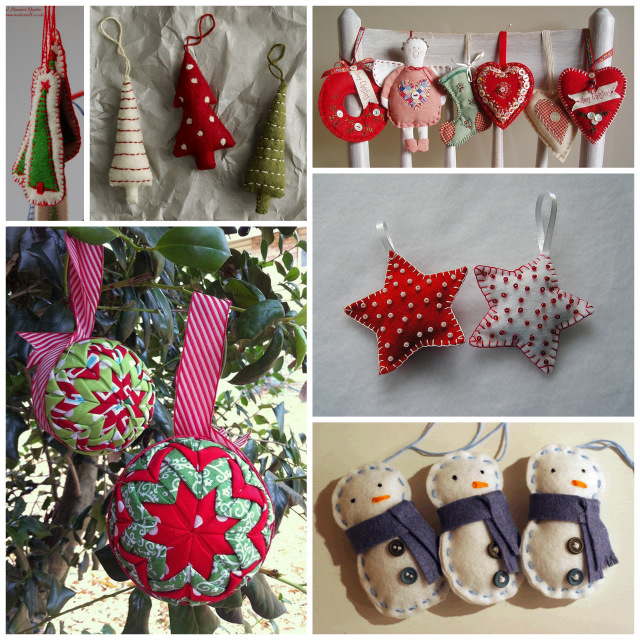 Christmas Inspiration: 13 Ornaments To Sew
