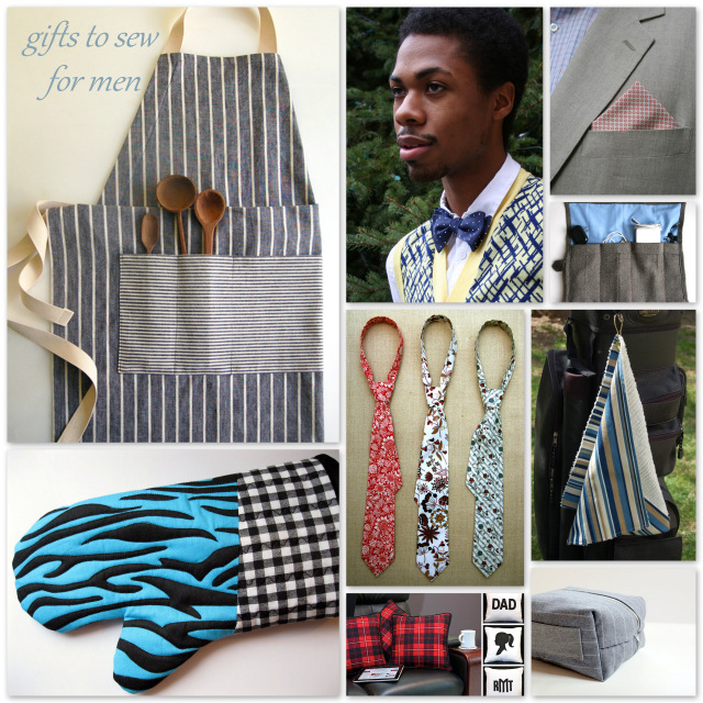 Round Up: 9 Gifts to Sew for Men — A Sewing Journal