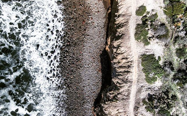 #rocks on the #beach in #baja #california #trail #hiking #adventure #ocean #drone #dji #water #travel #outdoors #mexico