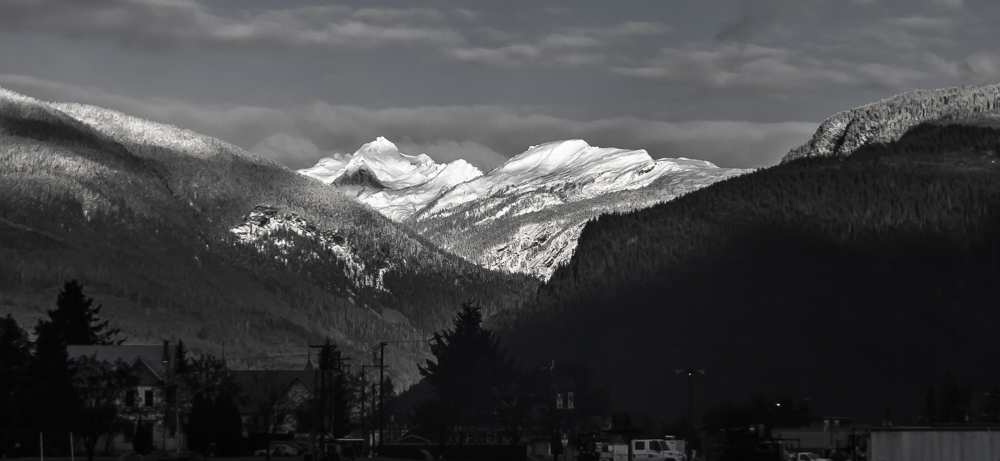 Revelstoke November snow