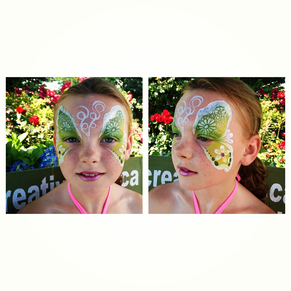 Creative LIME - Green Butterfly