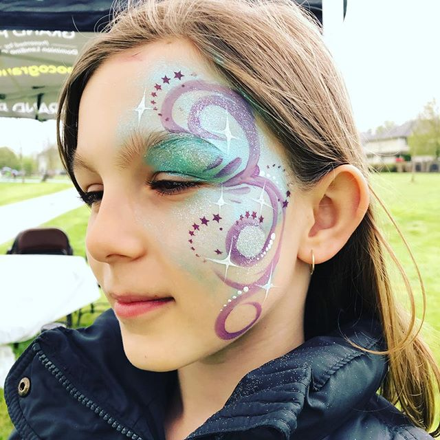 Happy Tuesday! Wonderful day Face Painting at the Grand Opening at the Blakeburn Lagoons. Stunning job @cityofpoco 👌🏻😄 Make it a great day! Smiles, Jenna 💚 #events #facepainting #creativelimejenna