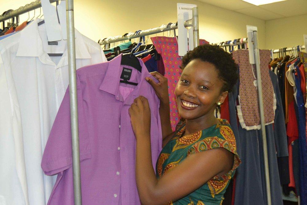 Ntombifuthi G-2 Zakwe training in the wardrobe department on set of UzaloDSC_6339.jpg