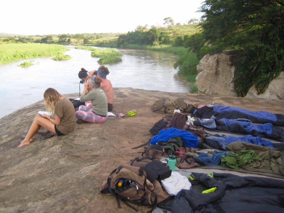 Sleeping out in the open under the stars with the Big 5 On trail.jpg