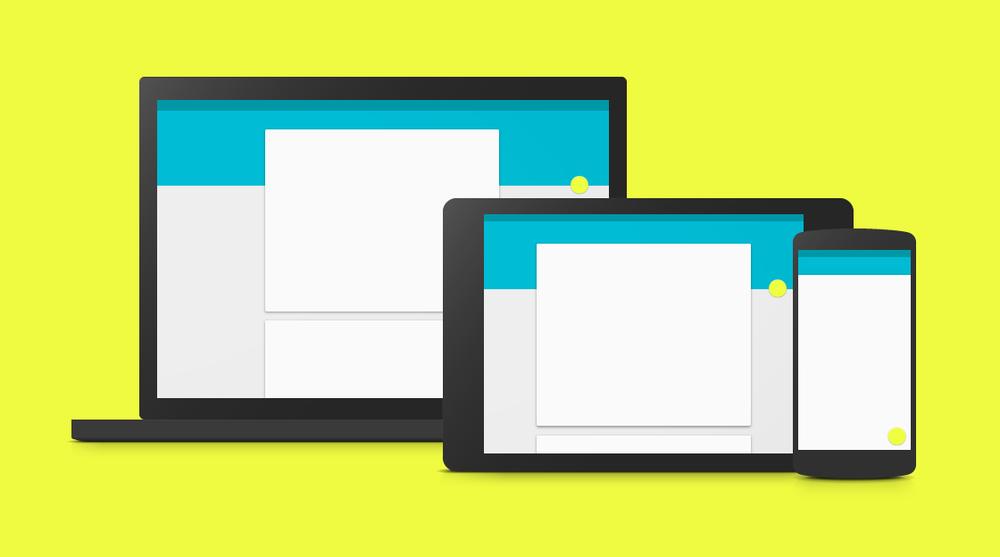 Google's 'Material Design' Design philosophy promotes seamless experiences