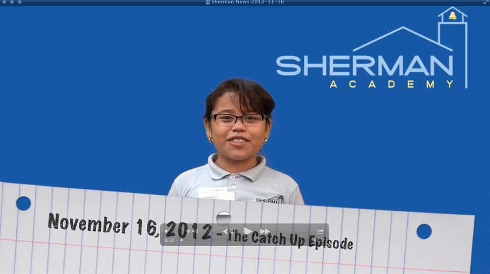 Sherman News: November 16, 2012