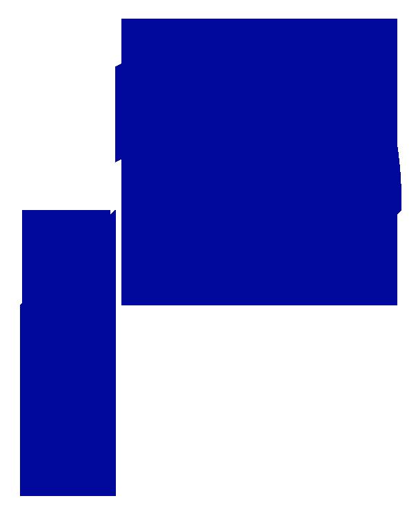 Alghem -kirjaintyypin  kaksi perusmuotoa: pylväs ja kaari.