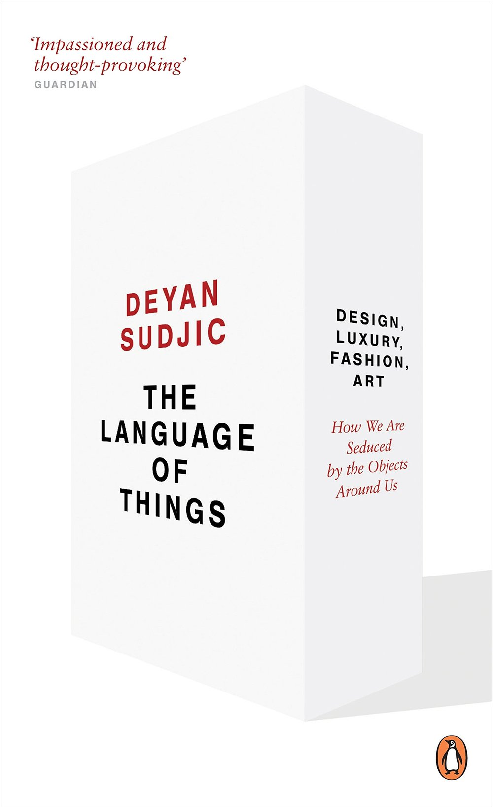 Deyan Sudjic:  The Language of Things . Kuva:  Amazon.com