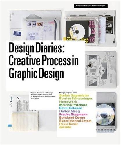 Lucienne Roberts & Rebecca Wright: Design Diaries: Creative Process in Graphic Design. Kuva: Amazon.com