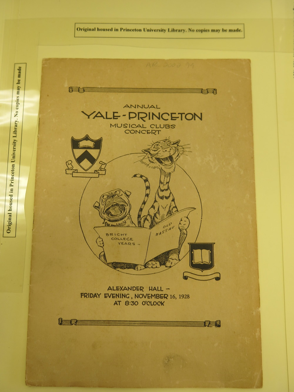 1928 Annual Concert