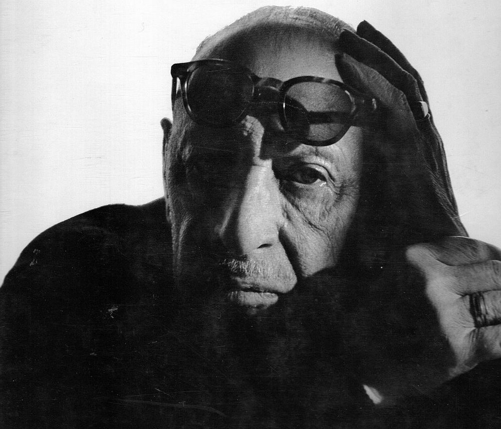 Portrait of Igor Stravinsky   by   Arnold Newman , Princeton University 1966