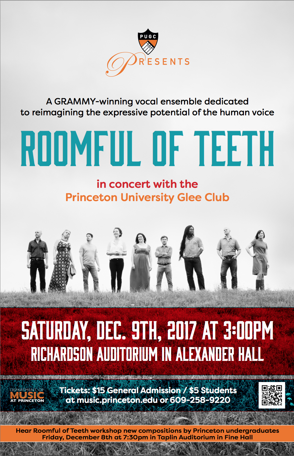 Glee Club Presents: Roomful of Teeth — Princeton University Glee Club