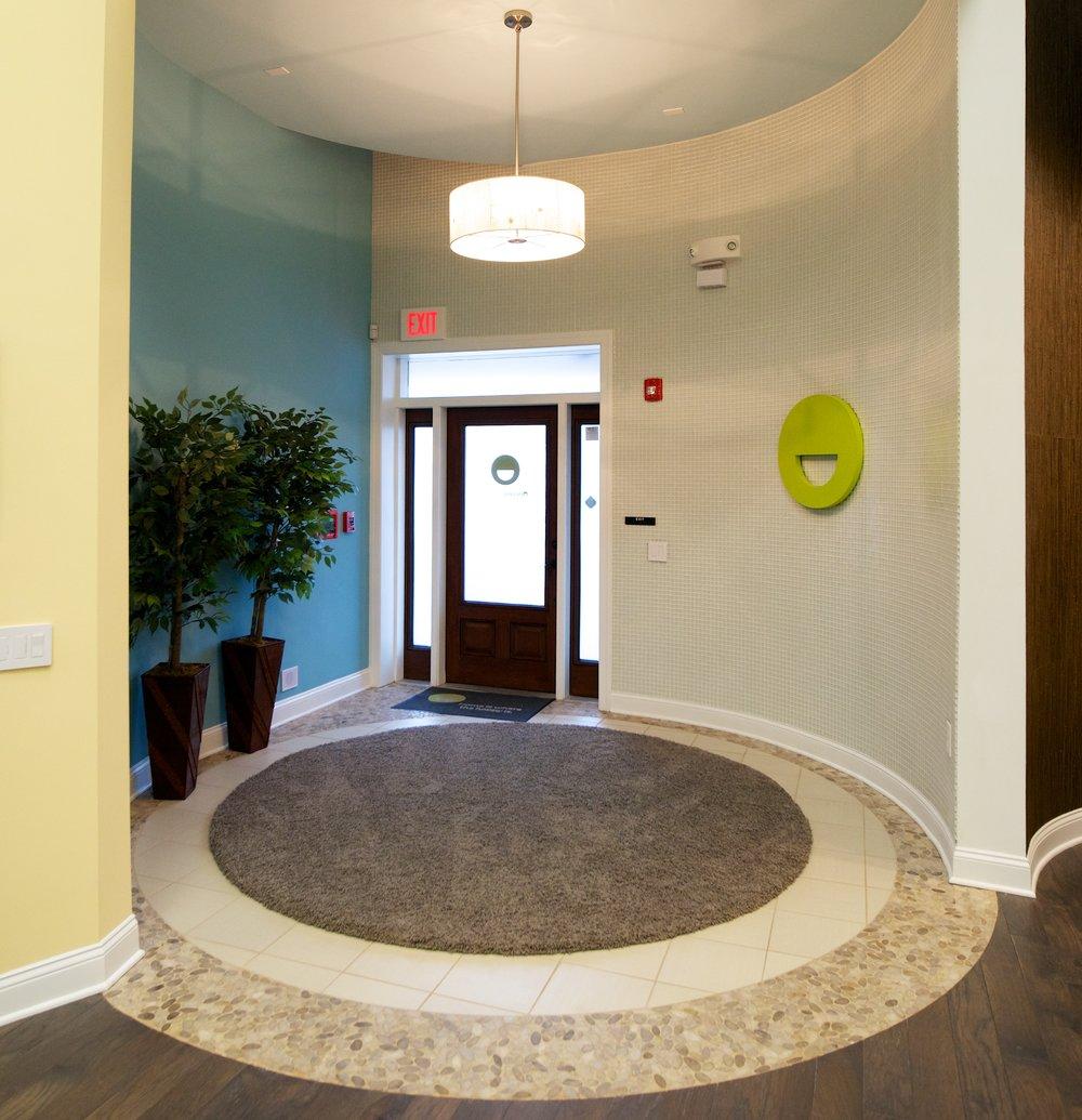 Entranceway Sales Center