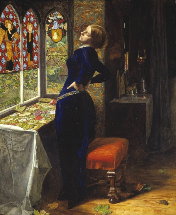 Sir John Everett Millais, Mariana, 1851.