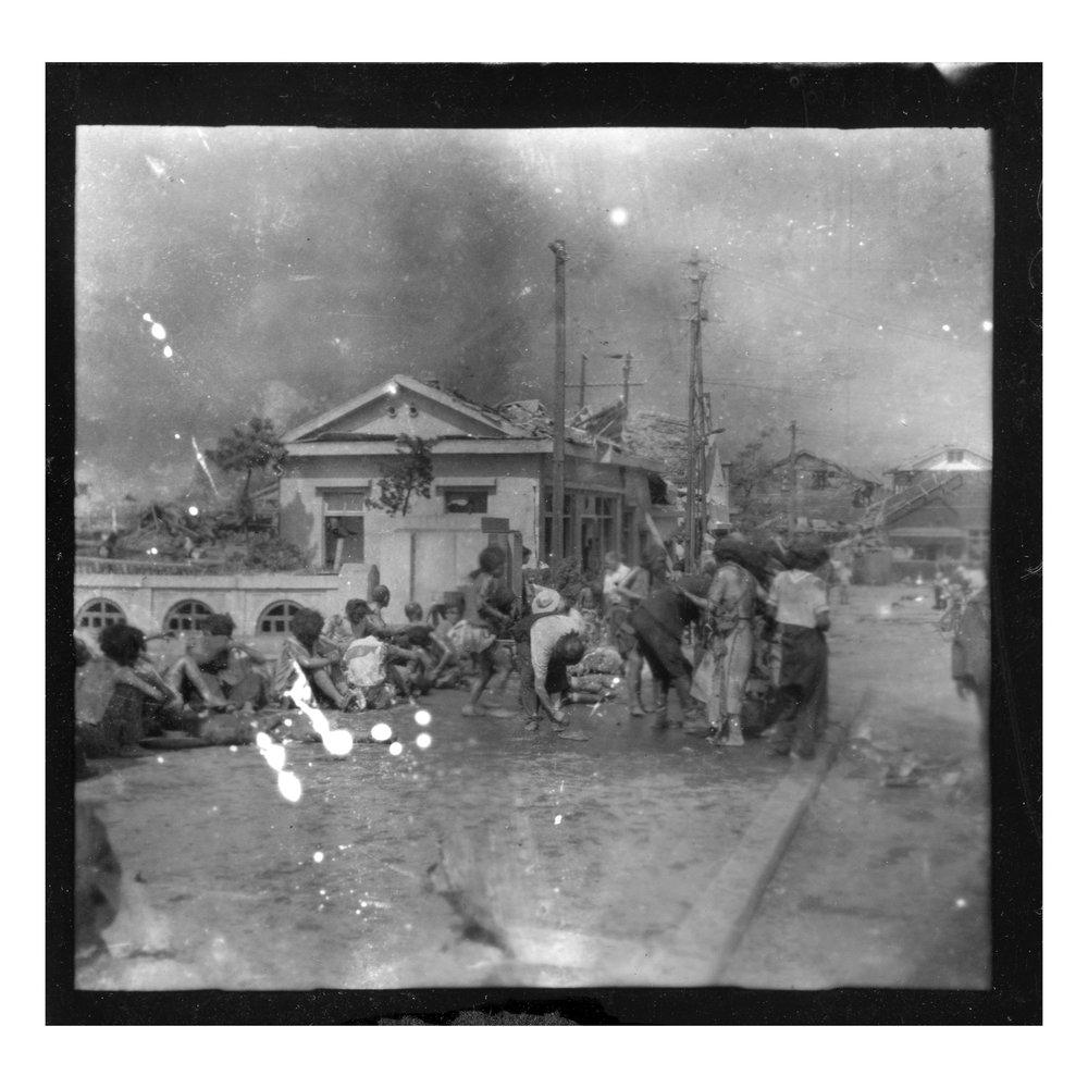 Matsushige Yoshito, Hiroshima, 6 de Agosto 1945.