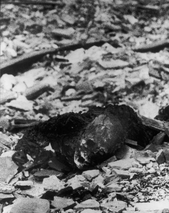 Yamahata Yôsuke, Nagasaki, 10 deAgosto 1945.