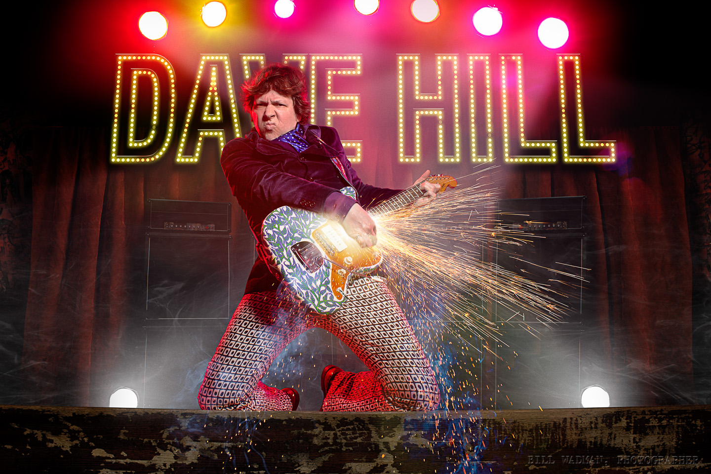 Dave Hill On Stage