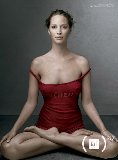 Christy Turlington by Annie Leibovitz