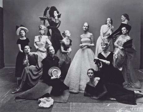 The Twelve Beauties by Irving Penn