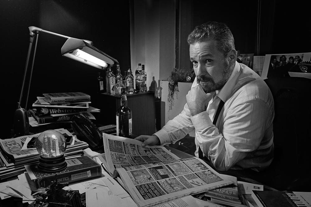 Tony Ortega - Editor