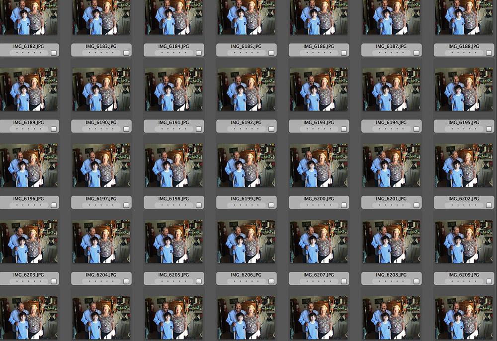 iPhone 5S - Burst mode - 30 shots in 3 seconds