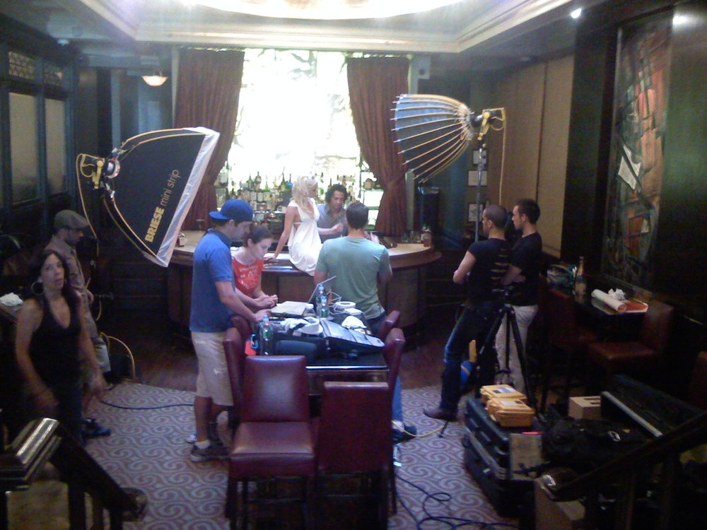 BTS Photo Shoot in NYC. Headed to work. Shot on iPhone, Aug 5, 2007