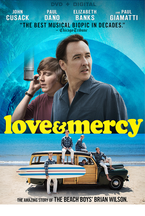 The Criti Y Acclaimed Musical Biopic About The Fascinating Life Of The Beach Boys Co Founder Brian Wilson Love Mercy Is Now Available On Digital Hd