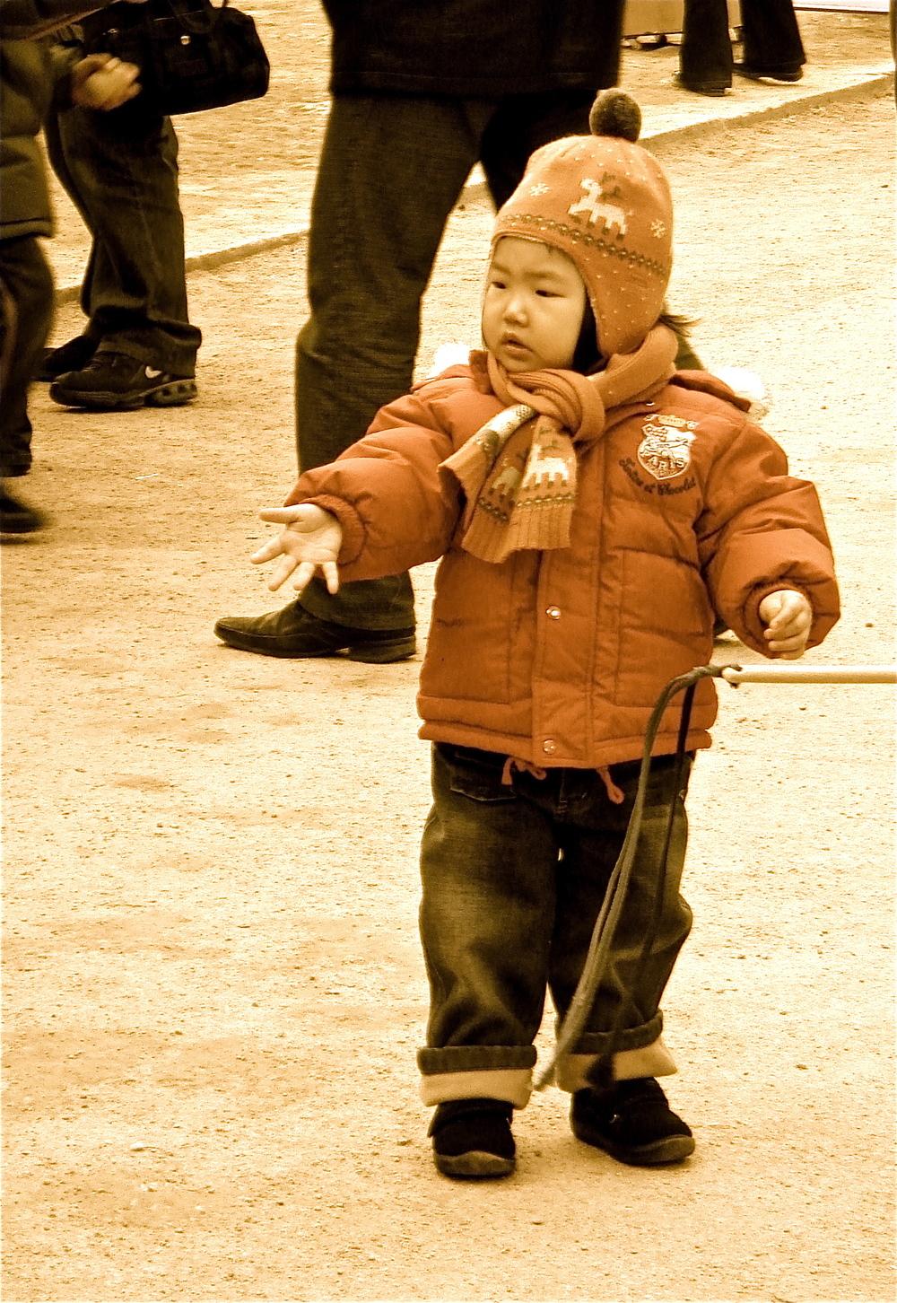 Child Playing       Seoul, South Korea
