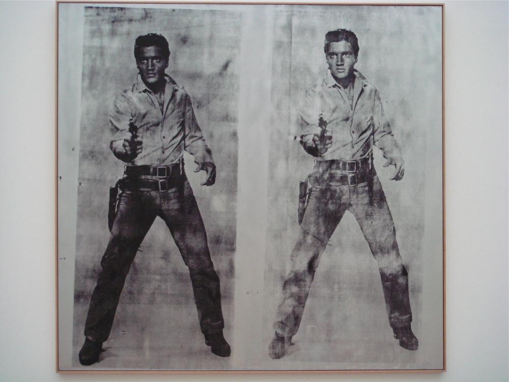 Elvis, circa 1963       Andy Warhol