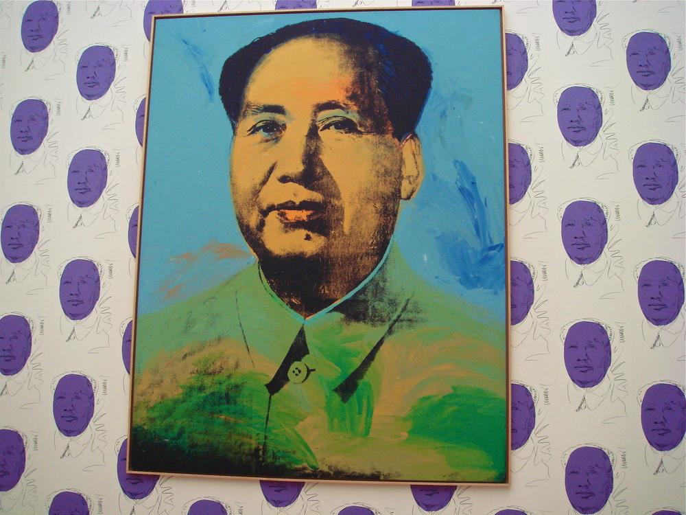 Mao Zedong, circa 1972       Andy Warhol