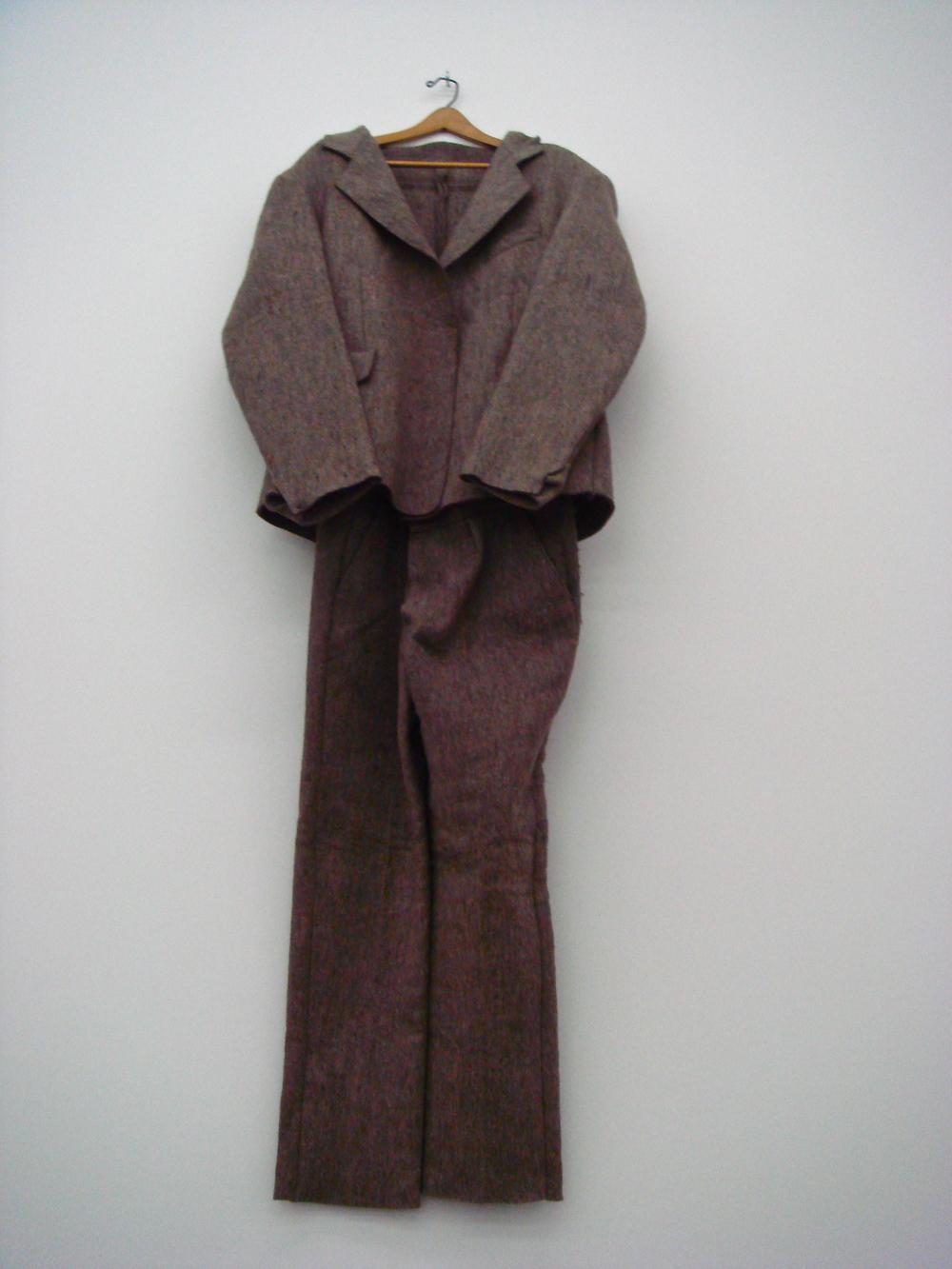 Filzanzug (Felt Suit), 1970               Joseph Beuys