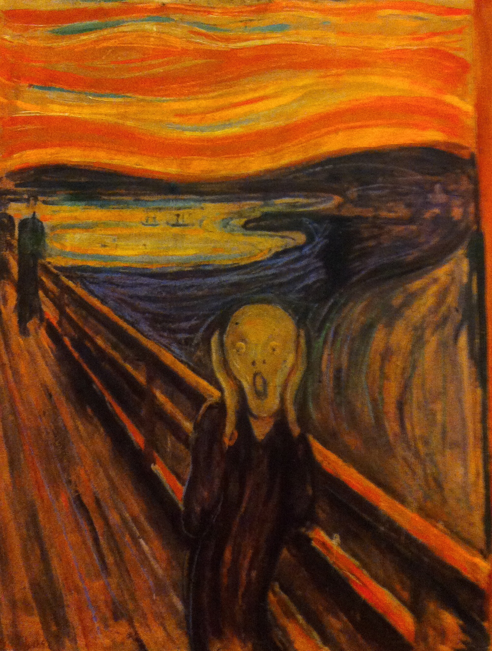The Scream, 1893             Edvard Munch — Nasjonalgalleriet, Oslo