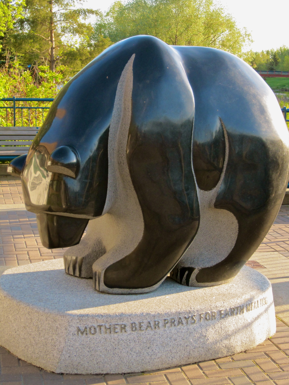 Mother Bear Preys for Earth Healing, 2007     Stewart Steinhauer