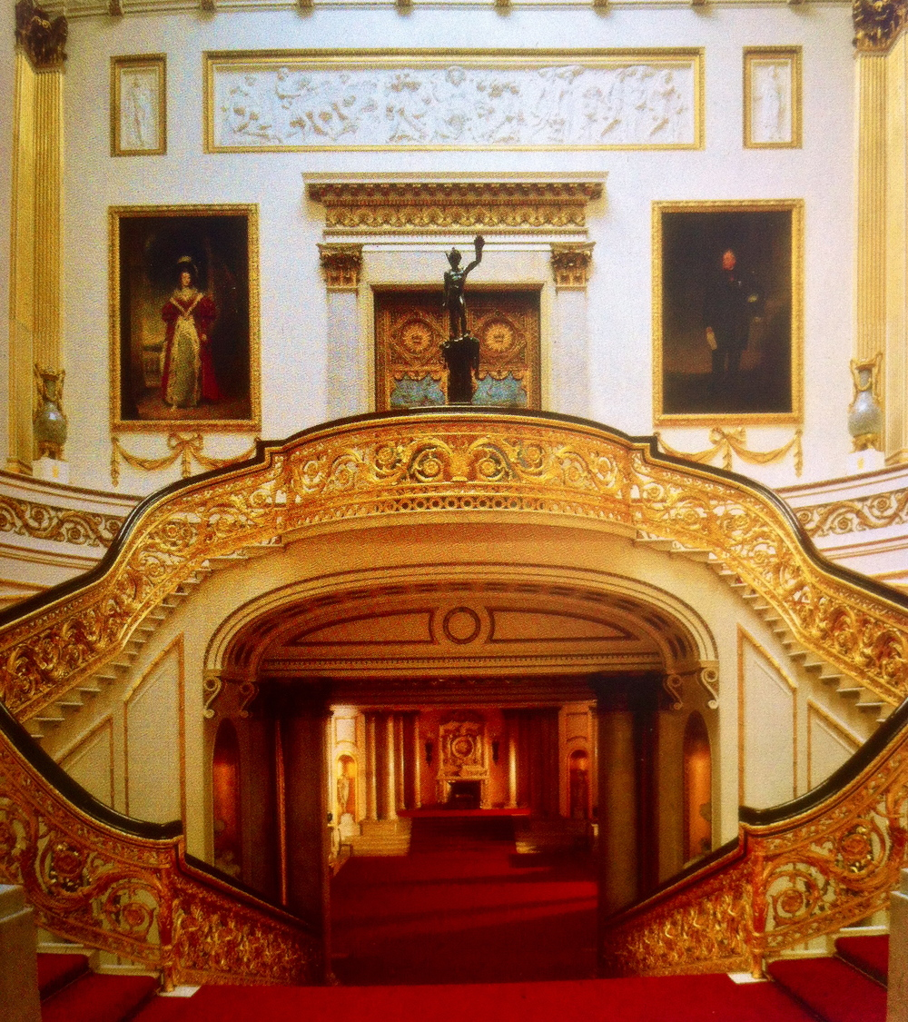 The Grand Staircase, Buckingham Palace